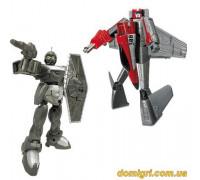 Игровой набор Робот-трансформер, самолет, воин (82020R X-bot)