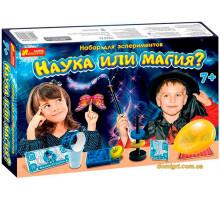 Наука або магія, набір для експерементів, Ranok Creative