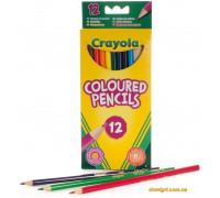 12 тонких фломастеров ярких цветов (7509 Crayola)