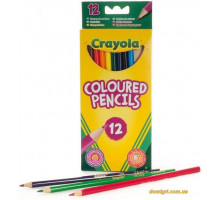 12 тонких фломастерів яскравих кольорів (7509 Crayola)