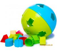 Мяч-сортер, 12 форм (57117 BeBeLino)