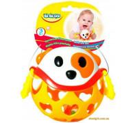 Погремушка Мягкий мяч Собака (58059 BeBeLino)