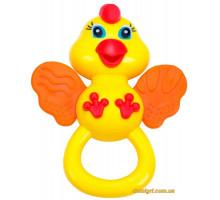 Погремушка-прорезыватель Цыпленок (57105 BeBeLino)