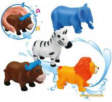 Животные-пищалки для ванной Зоопарк, 4 шт (58004 BeBeLino)