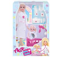 Кукла Ася Детский доктор с аксессуарами (35101 ToysLab)
