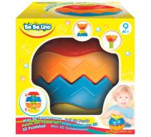 Мяч 3D Головоломка с рельефной поверхностью (58076  BeBeLino)