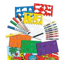 Набор для рисования с трафаретами (5310 Crayola)