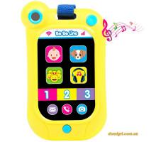 Интерактивный смартфон (желтый), BeBeLino