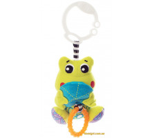 Трясущаяся игрушка-подвеска Жабка (0185473 Playgro)