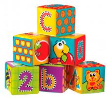 Кубики для купания Алфавит, Playgro