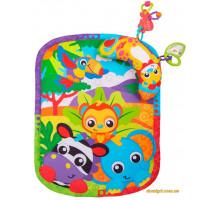 Развивающий коврик с подушечкой Зоопарк (0186988 Playgro)