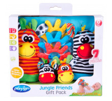 Подарочный набор для новорожденного Джунгли, Playgro