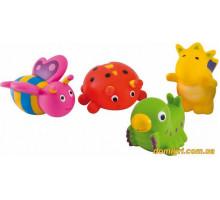 Игрушка для купания Зверьки, 4 штуки (2/997 Canpol babies)