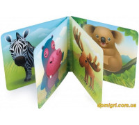 Книжечка-игрушка мягкая пищалка Цветная ферма (2/083 Canpol babies)