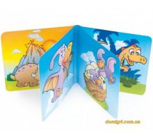 Іграшка-книжка пищалка Динозаврики, Canpol babies