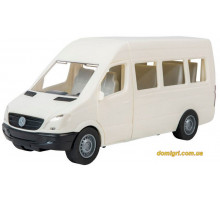 Автомобиль Mercedes-Benz Sprinter (пассажирский белый), 1:24, Тигрес