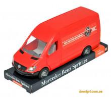 Mercedes-Benz Sprinter грузовой (красный) на планшетке, 1:24, Tigres