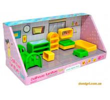 Набор мебели для кукол (спальня), 7 элементов, Wader