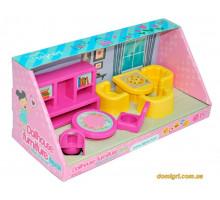 Набор мебели для кукол (гостиная), 8 элементов, Wader