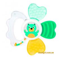 Игрушка-прорезыватель с водой Медвежонок, Зверюшки, Canpol babies