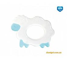 Прорезыватель для зубов силиконовый, голубая овечка, Canpol babies