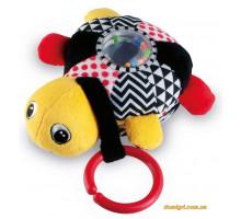 Развивающая музыкальная игрушка Черепаха, желтая, Canpol babies