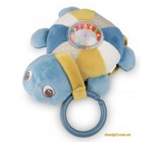 Развивающая музыкальная игрушка Черепаха, голубая, Canpol babies