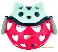 Игрушка с погремушкой Красный Котик, Canpol babies
