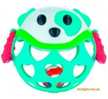 Игрушка с погремушкой Бирюзовая Собачка, Canpol babies