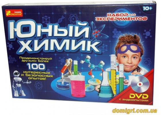 Набор Юный химик 100 опытов (0306 Ранок)