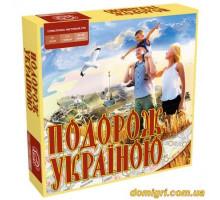 Настольная игра Путешествие по Украине (Ариал)