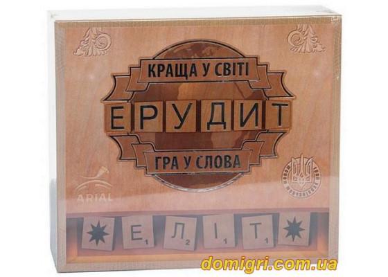 Настольная Игра Эрудит -элит,украинский язык (Ариал)