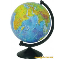 Глобус 260 мм, Фізичний, укр. (Інститут ПТ)