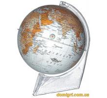 Глобус 210 мм Антик, Пластиковый, укр. (Институт ПТ)