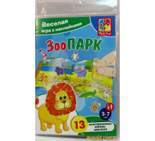 Игра с наклейками Зоопарк (VT4206-18 Vladi Toys)