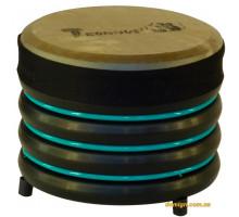 Барабан из натуральной кожи (18 x 22 см), бирюзовый, Trommus