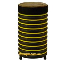 Барабан из натуральной кожи (31 x 17 см), желтый, Trommus