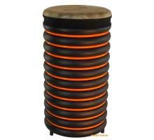 Барабан из натуральной кожи (53 x 28 см), оранжевый, Trommus