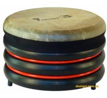 Барабан из натуральной кожи (21 x 34 см), красный, Trommus
