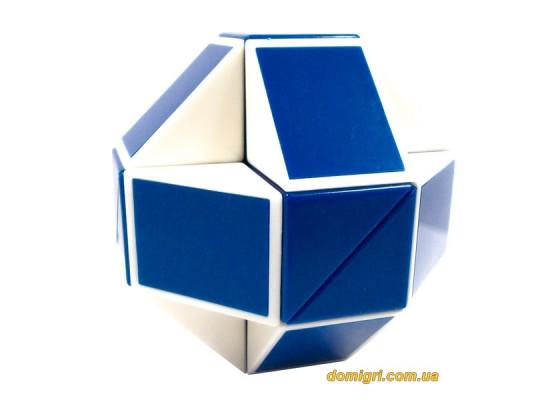 Оригинальная змейка Rubik's Cube | Синяя