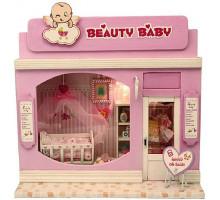 Мини-интерьерная модель DIY House Beauty Baby (13503)