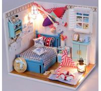 Мини-интерьерная модель DIY House Brandons Room (М010)
