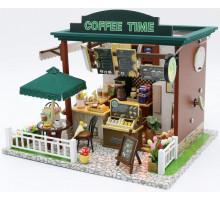 Мини-интерьерная модель DIY House COFFEE TIME (С006)