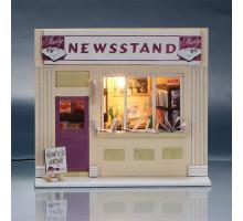 Мини-интерьерная модель DIY House Newsstand (13510)