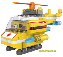 Конструктор Гелікоптер, 79 деталей, Pai Blocks