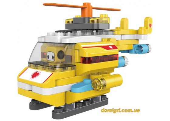 Конструктор Вертолет, 79 деталей, Pai Blocks