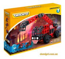 Конструктор Emergency 1 (пожарная машина, вертолет, багги), Twickto