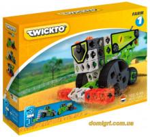 Конструктор Farm 1 (трактор, комбайн, удобритель), Twickto