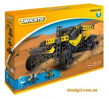 Конструктор Vehicles 1 (багги, экскаватор, марсоход), Twickto