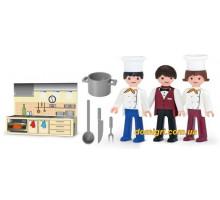 Набір з трьох фігурок Кухня, Igracek, Efko